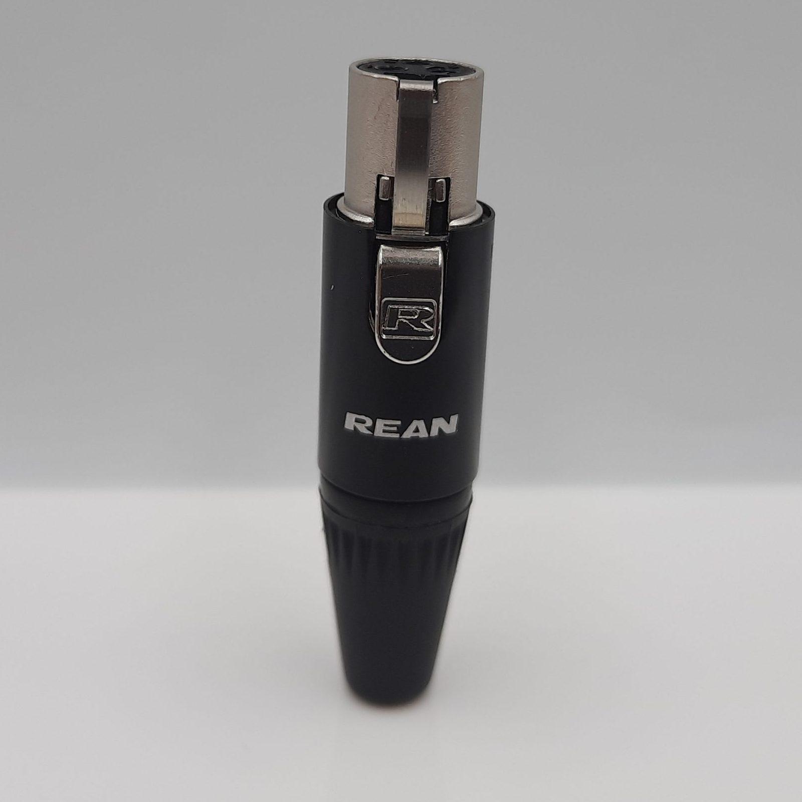 Rean RT3 FC-B (3-Pin Mini-XLR)