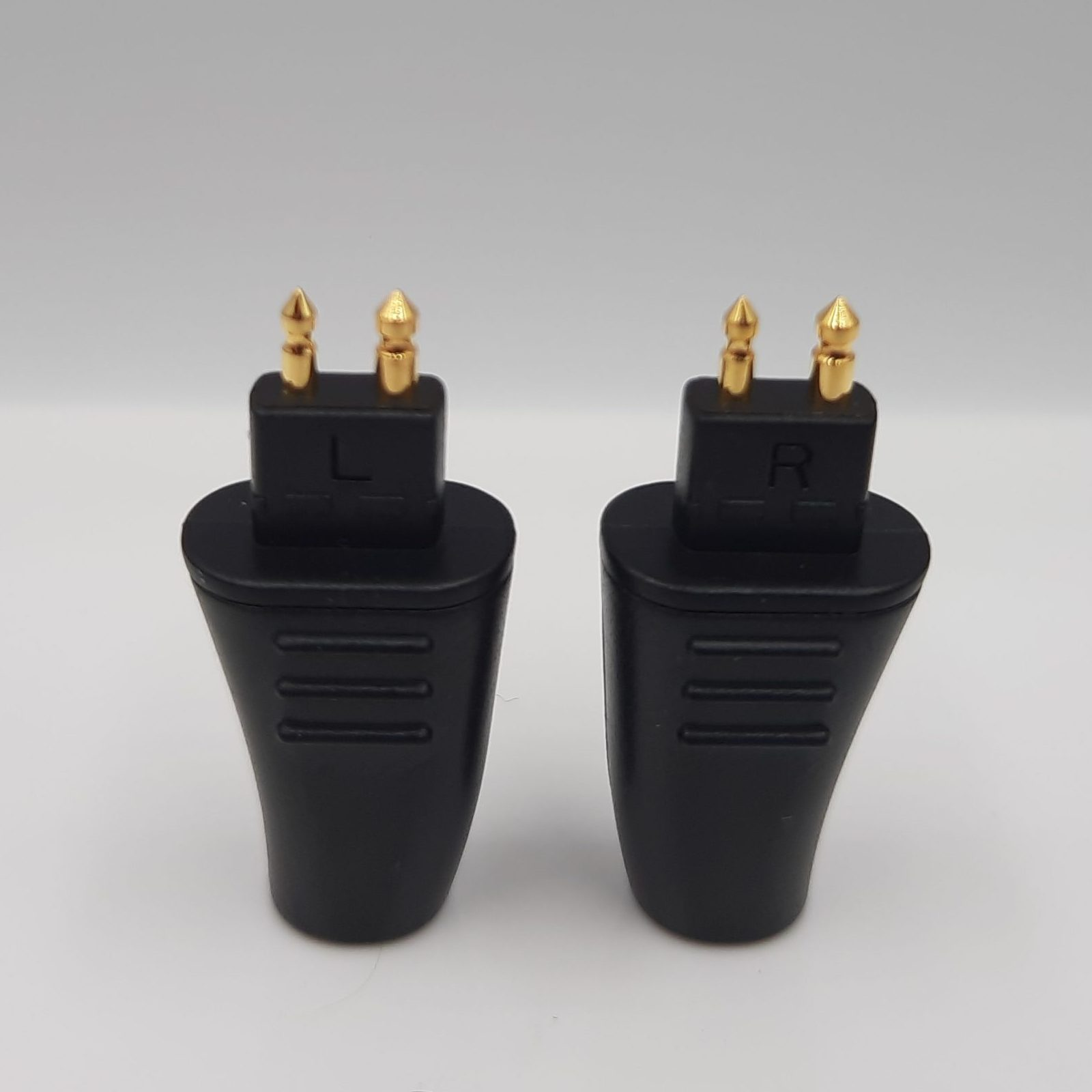 PLUSSOUND Gold Plated 2-Pin Connectors
