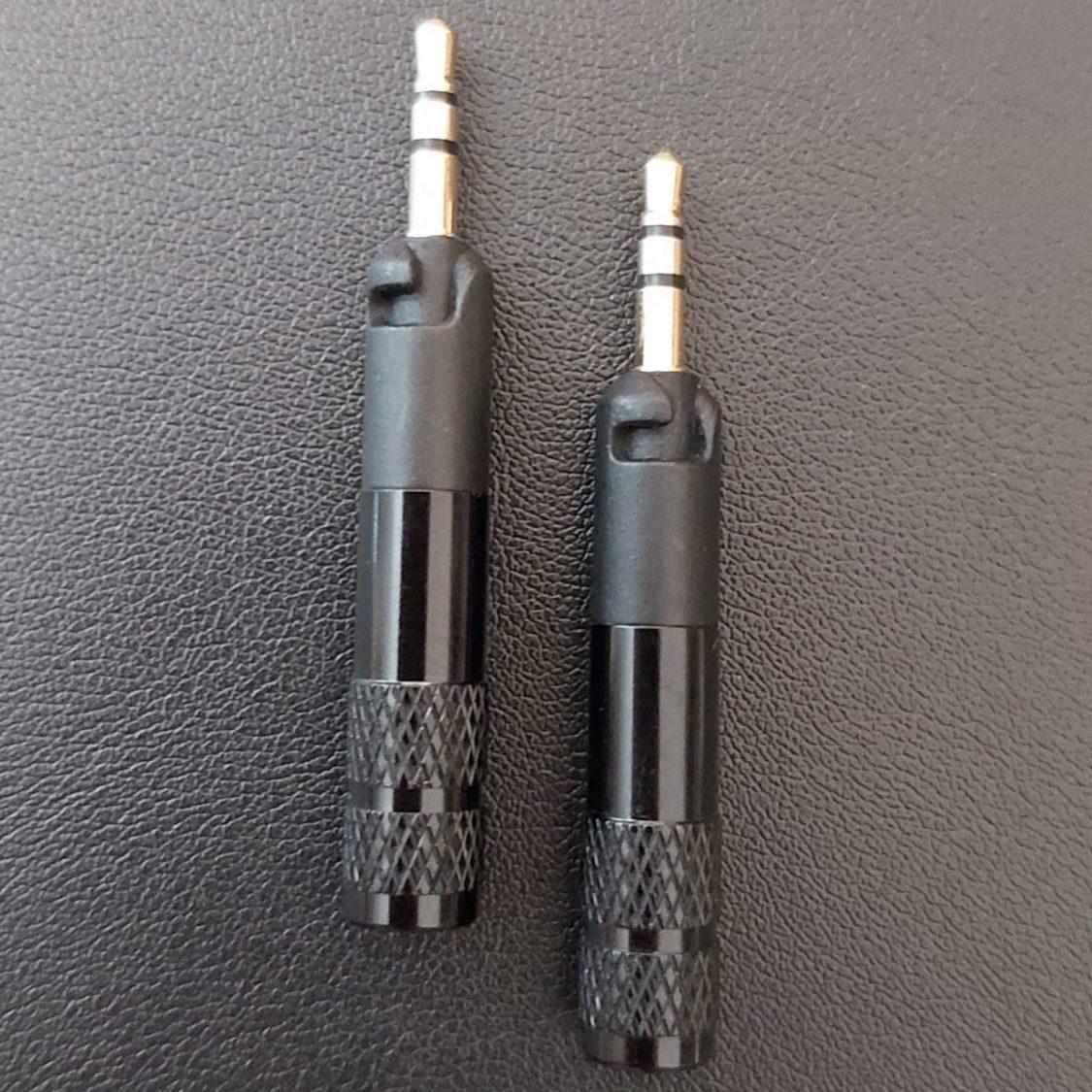 verriegelbare 2.5mm Stecker