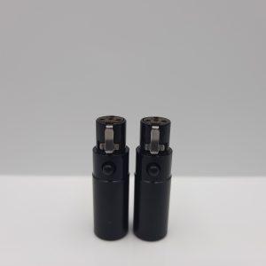 PLUSSOUND 4-Pin Mini XLR Connectors
